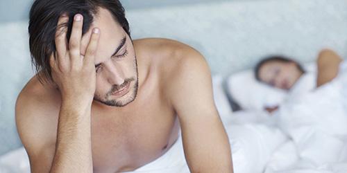 Нарушение потенции – один из симптомов атрофии тестикул