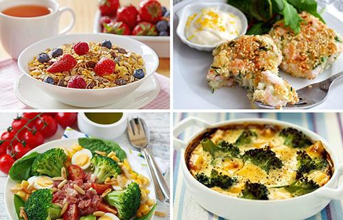 Перечисленный перечень рекомендованных продуктов позволяет составлять разнообразное и полезное для здоровья меню на каждый день